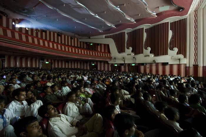 © Zubin Pastakia - Auditorium, Maratha Mandir, Mumbai