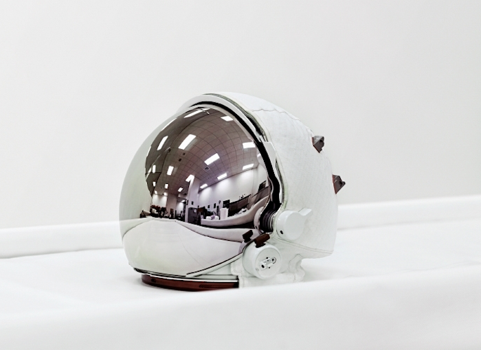 © Vincent Fournier - Space Helmet. Extravehicular Visor Assembly. John F. Kennedy Space Center, Florida 2011.