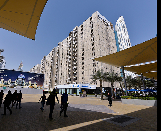 Dubai World Trade Centre Apts (1979)