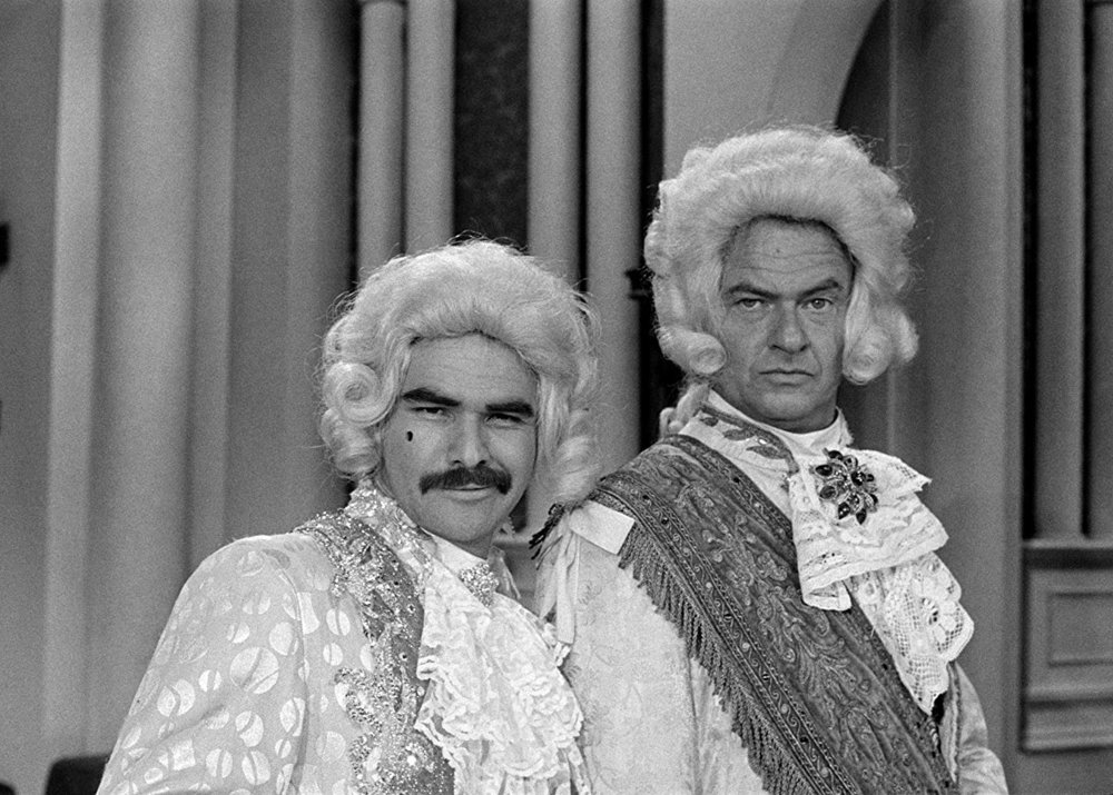 Burt Reynolds and Harvey Korman at an event for The Carol Burnett Show (1967). Photo by CBS Photo Archive - © 2010 CBS WORLDWIDE INC - Image courtesy gettyimages.com