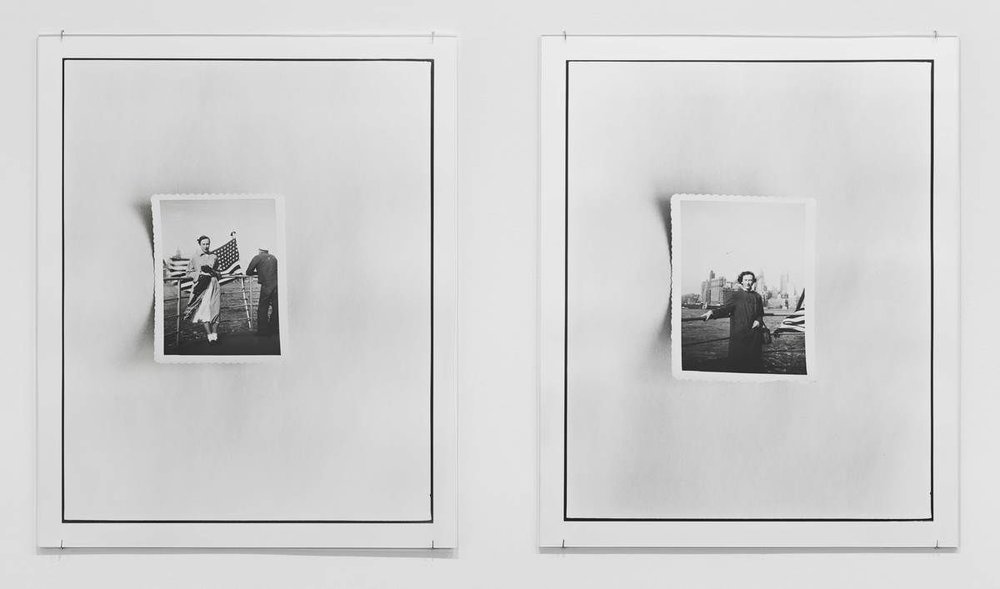 Zoe Leonard (b. 1961), detail of New York Harbor I , 2016. Two gelatin silver prints, 21 × 17 1/8 in. (53.3 × 43.5 cm) each. Collection of the artist; courtesy Galerie Gisela Capitain, Cologne, and Hauser & Wirth, New York