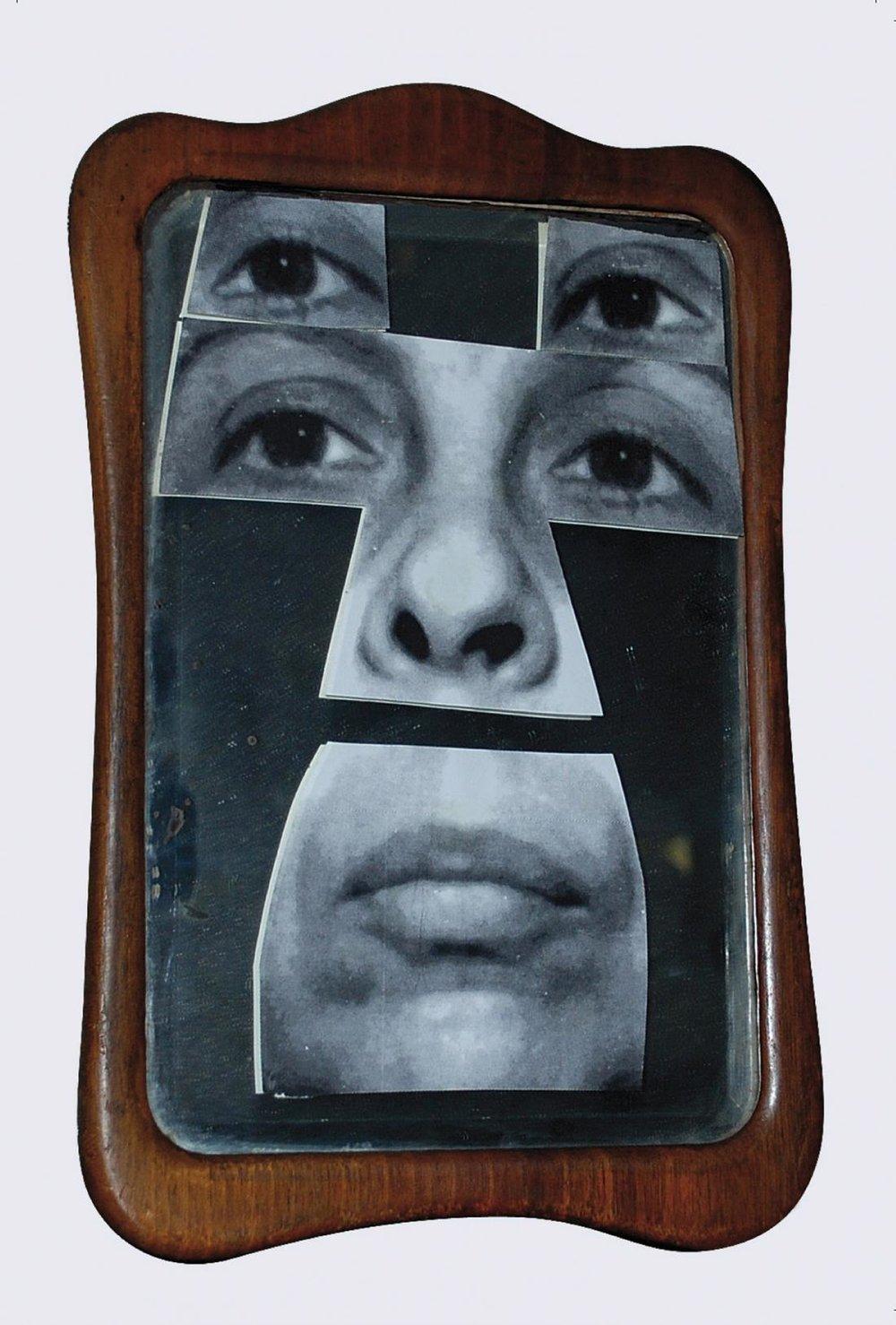 Geta Brătescu, Autoportret în oglindă [Self-Portrait in the Mirror], 2001. © Geta Brătescu, Courtesy the artist; Ivan Gallery, Bucharest; Hauser & Wirth. Photo: Ștefan Sava.