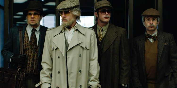 American Animals (Bart Layton, 2018)  An excellent heist film blending fact and fiction, a crime to satisfy the ego and not for anything else.