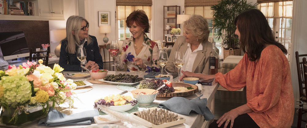 Book Club (Bill Holderman, 2018)  This film made me laugh a lot. The entire cast is great, especially Candice Bergen and Andy Garcia. We also have Mary Steenburgen tap dancing to Meat Loaf. Extra points for including Roxy Music's More Than This in the soundtrack. The film has a couple of very bad digital effects, but never mind that.