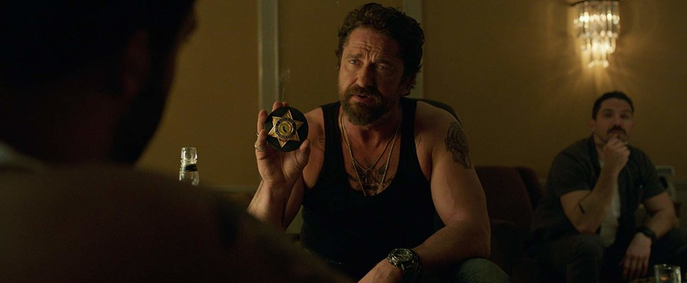 Den of Thieves (Christian Gudegast, 2018)  This is a good old fashioned gripping and entertaining police vs robbers heist film, where the cops are rough and the robbers are not what they appear to be. Gerard Butler really embraces his 'gangster cop' character in this.