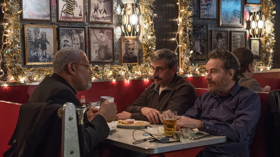 Last Flag Flying (Richard Linklater, 2017)  A funny, moving, and scathing commentary on war and American imperialism.