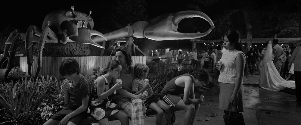 Roma (Alfonso Cuarón, 2018)  Roma has created strong and interesting debates about it in terms of representation and privileged story telling. I find the film to be an indictment and an homage. Cuaron shows us that no matter how much Cleo is made to feel like she's part of the family, the power and class dynamics always remain.