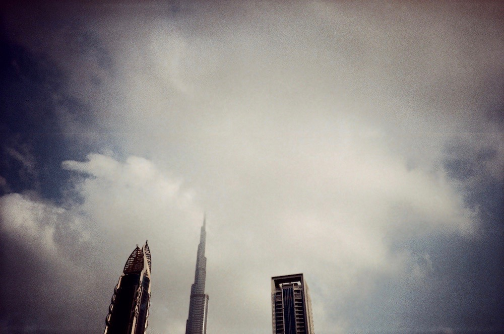 Jan 5 - Burj Khalifa and other high rise buildings on Sheikh Zayed Road