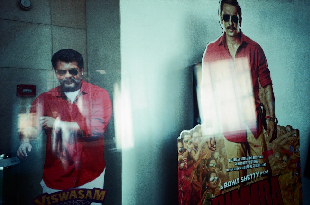 Jan 18 - Viswasam and Simmba billboards, Vox Cinema (Double Exposure)