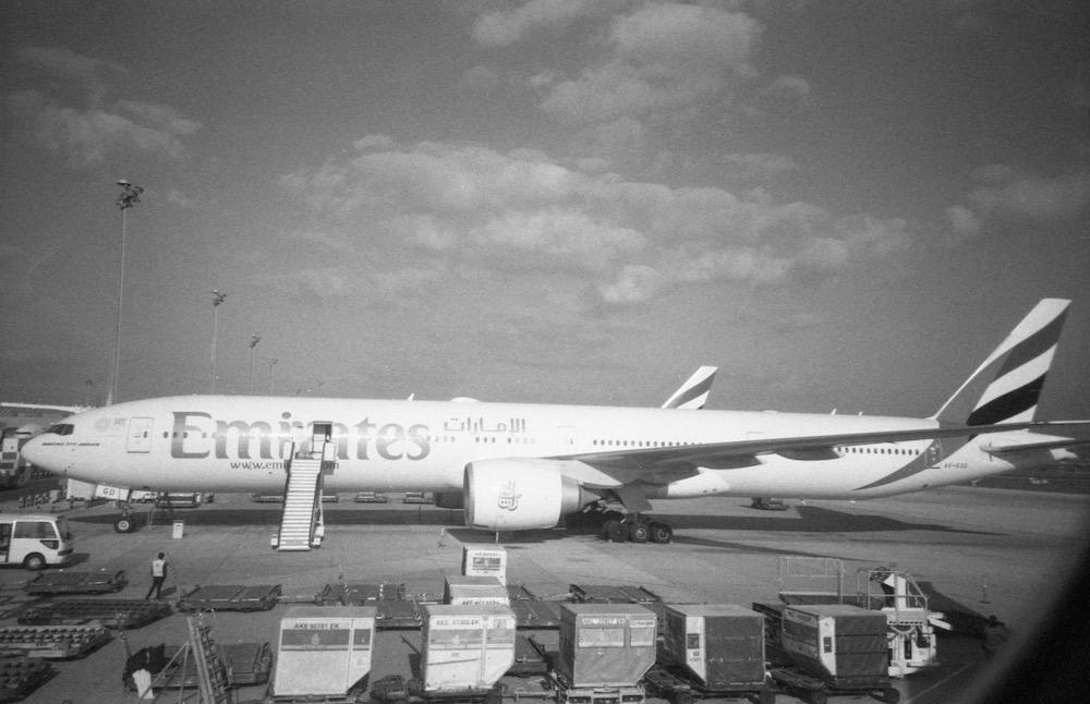 Feb 5 - Emirates at Dubai Airport