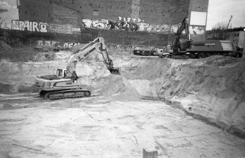 Feb 19 - Construction Site in Wedding, Berlin
