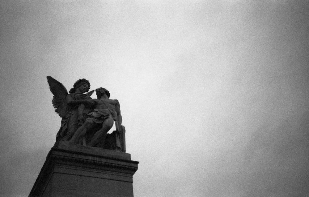 Feb 20 - Sculpture on Schloss Bridge, Berlin
