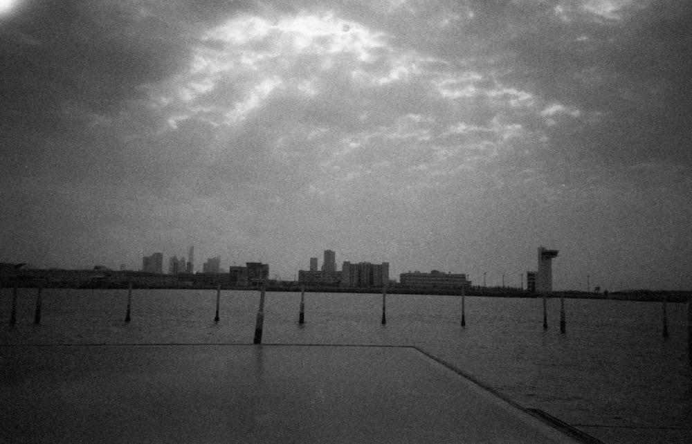 Feb 27 - View of Abu Dhabi from Louvre Abu Dhabi