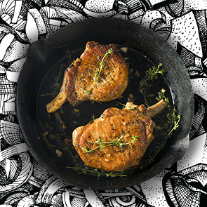 FRESH & CRUNCHY PICKLED PINEAPPLE & JALAPEÑO   Pickled pineapple adds a bright, sweet-tart crunch. Use it to liven up a succulent charred pork chop with a welcome hit of heat.