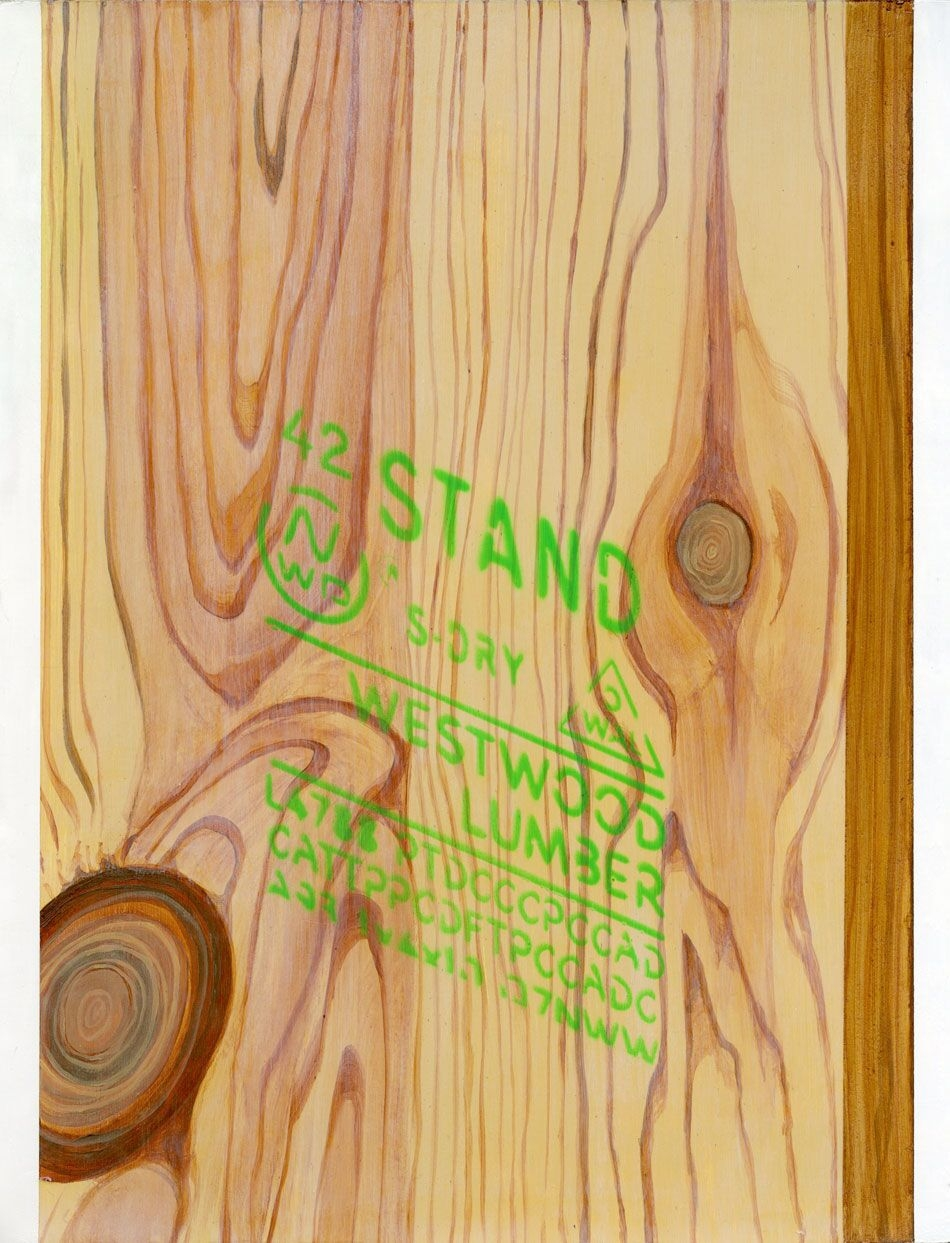 "Nathan Gorgen,  Westwood II , 14x11"", Acrylic on Paper, 2014"