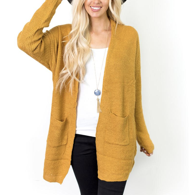 Yellow cardigan, cozy cardigans, everyday look, comfortable outfits, luxestyle, street style, style guide