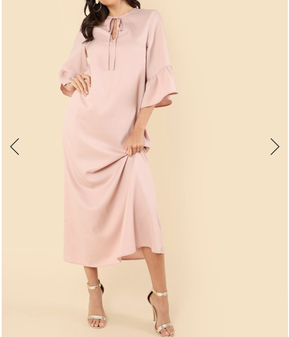 Satin dress, dress for every occasion, simple but classy look, simple dress