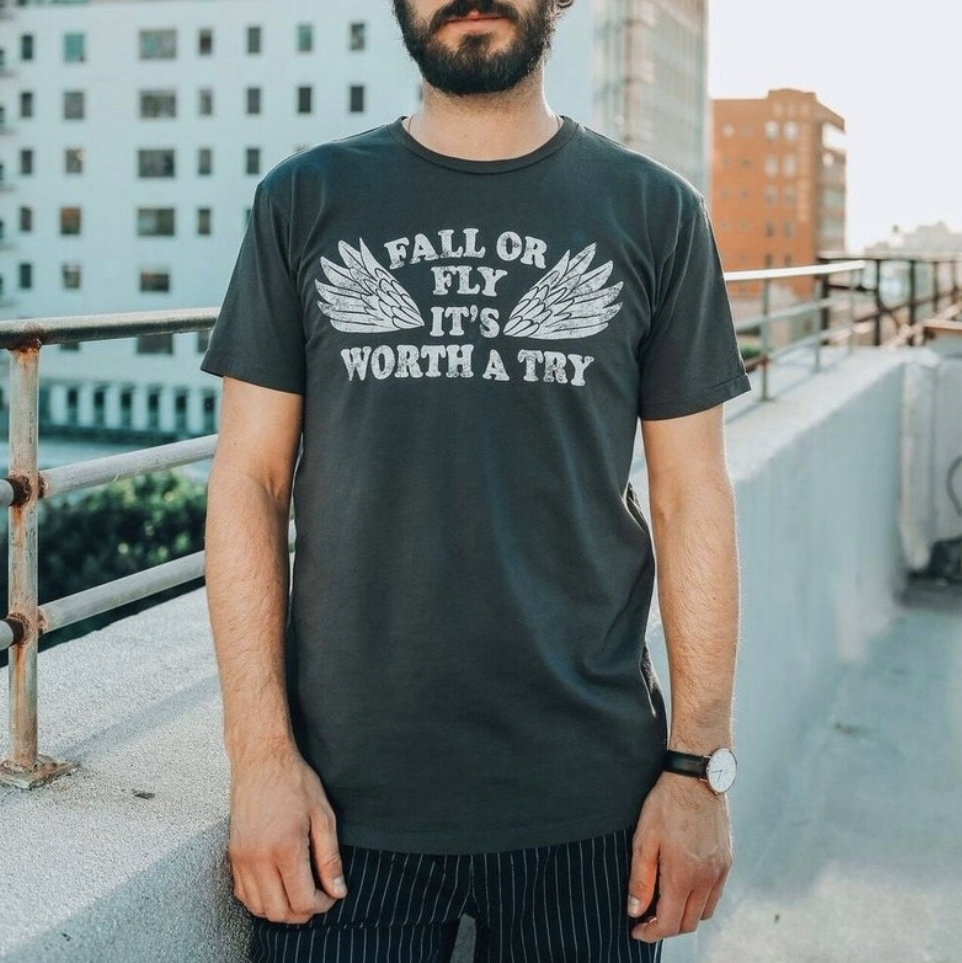men's graphic shirt, men's shirt, men's fashion, slow fashion, holistic lifestyle