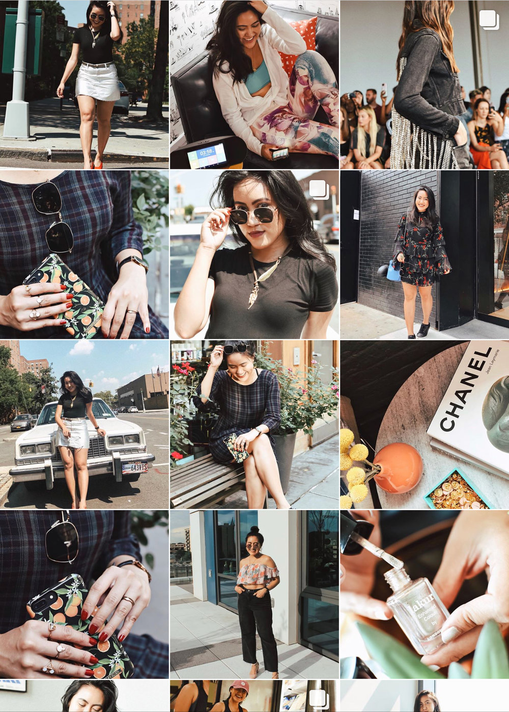 Fashion Grammer, Instastyle, Instagram Feed Inspiration