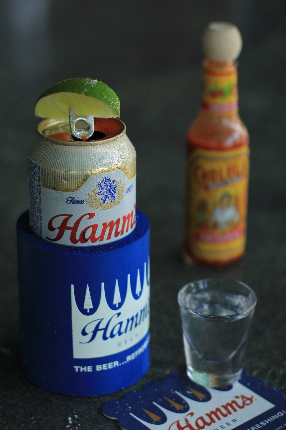 Loaded Hamm's Beer