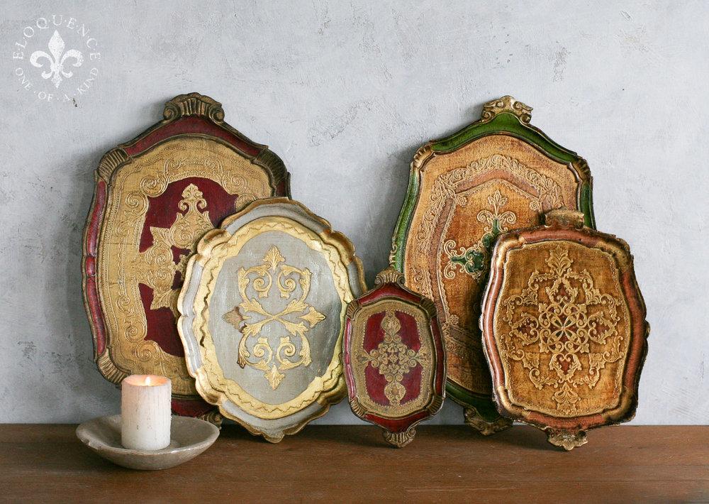 -FIVE-1 Vintage Italian Trays c1950's.jpg