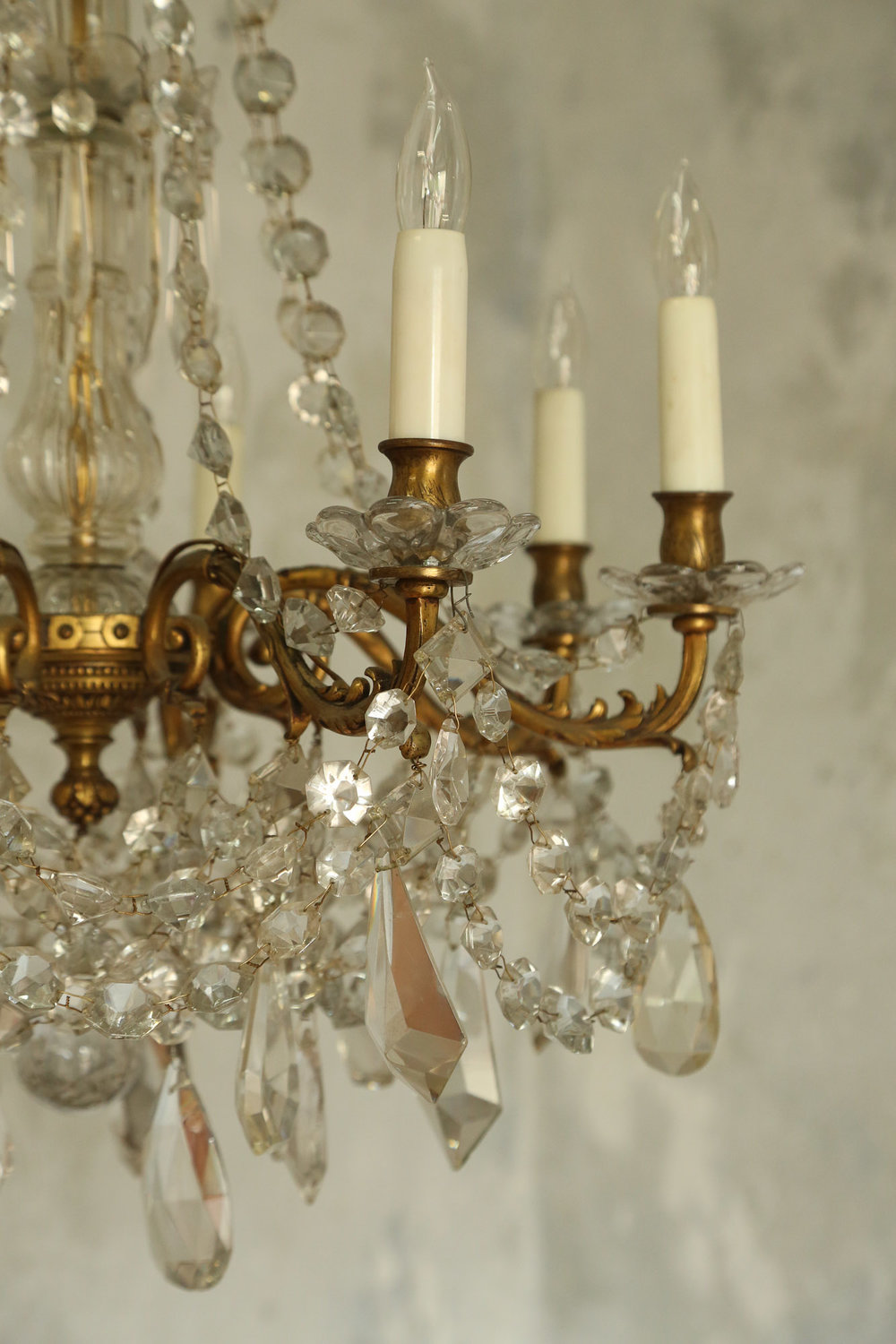 Antique chandelier early 1900's France.jpg
