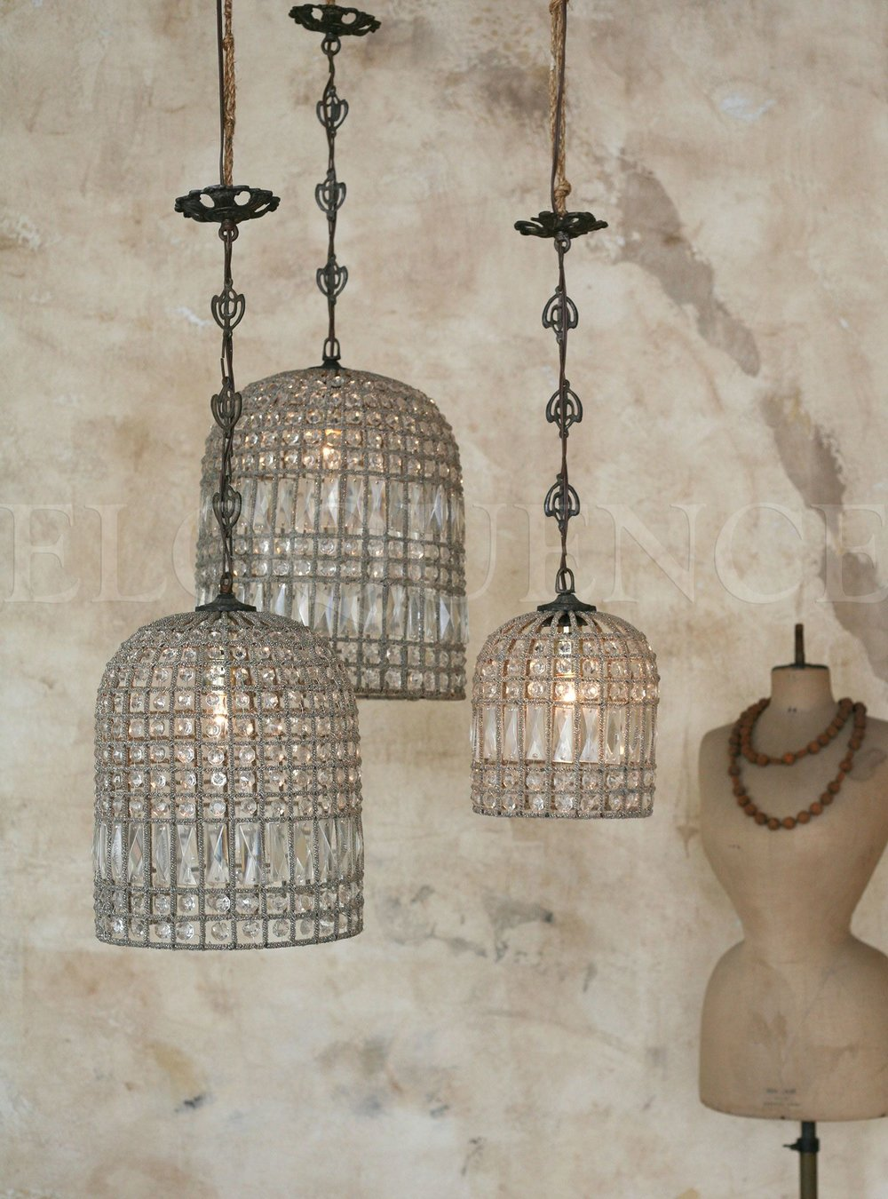 Antique Reproduction Birdcage Chandelier.jpg