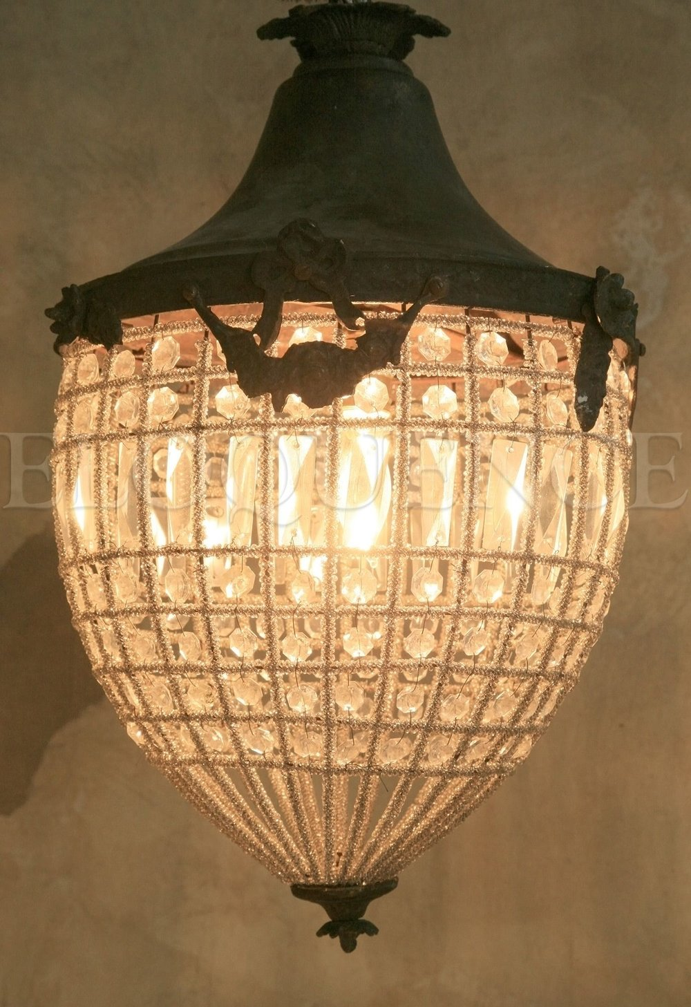 Antique Reproduction chandelier.jpg