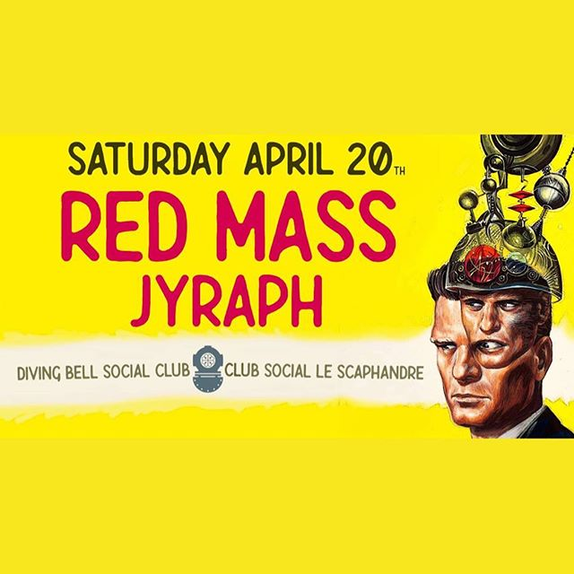 This Saturday, the first fully legal 4/20, come witness some of Montreal's best psychedelic sounds and visions! Ce samedi, pour le premier 4/20 légal, venez assister aux meilleurs sons et visuels psychédéliques à Montréal! Featuring trippy performances from Red Mass & Jyraph🎶 +visuals by @georgipatchouli🎨 • • • • • • #livemusic #420 #celebration #legalization #montreal #mtl #cannabis #mtlmusic #visuals #psychedelic #psychedelicmusic #trippy #visuals