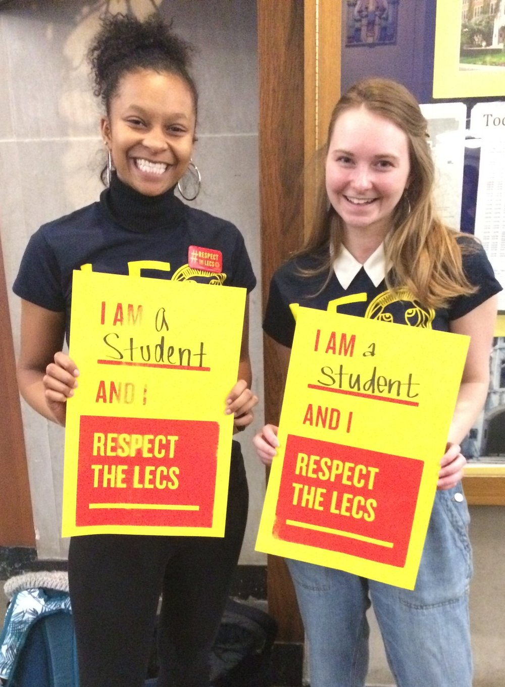 Ann Arbor student allies at a University Board of Regents meeting