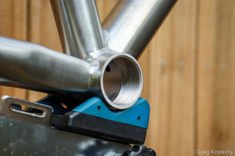Not pictured: the bottom bracket shell even has a drain hole for water to escape.