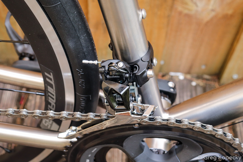 The new derailleur has semi-tricky cable routing, but after you do it once, it becomes easy.