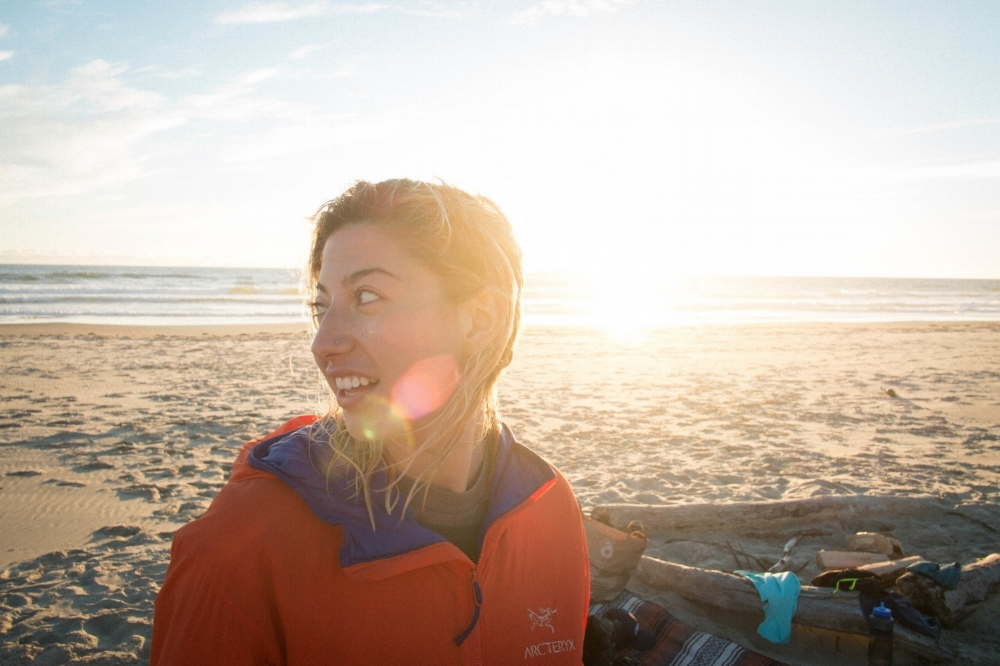 On the beach in my favorite state, Oregon. Photo by  Kelsey Austin Scott