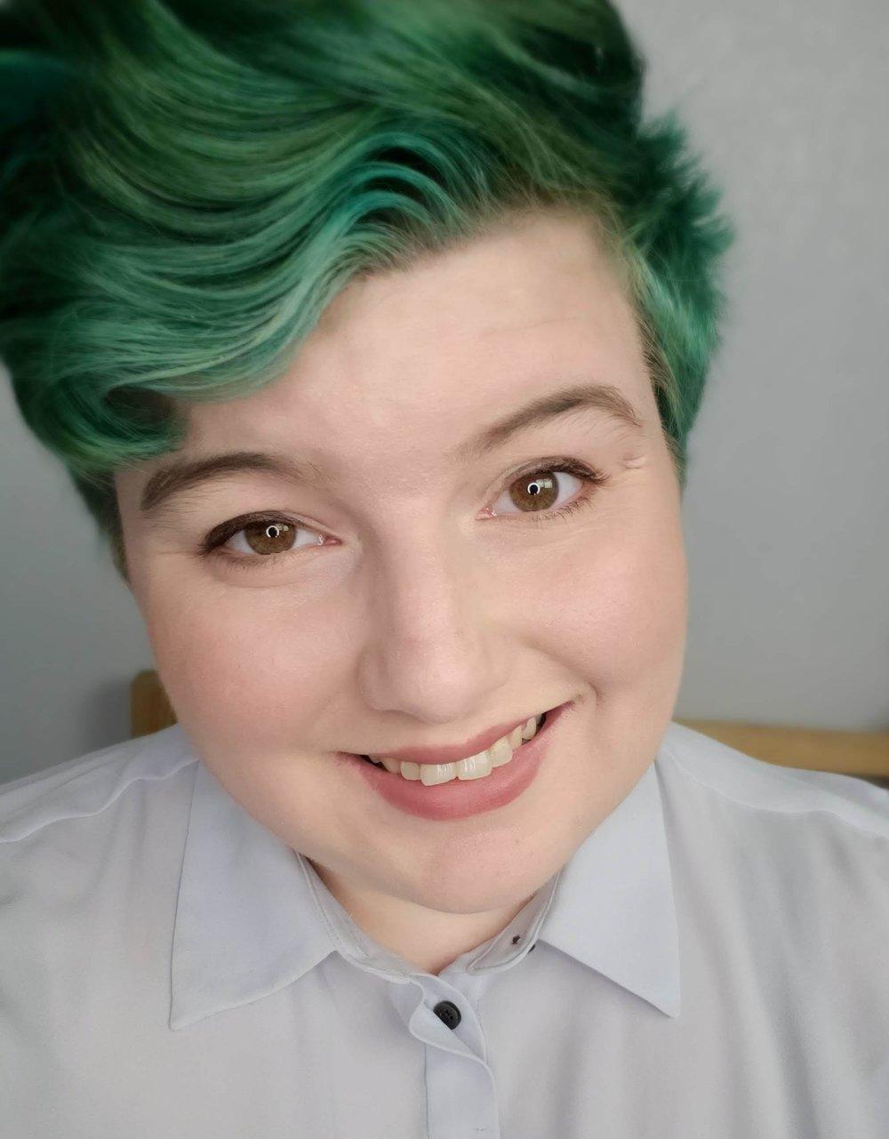Grace Marshall selfie