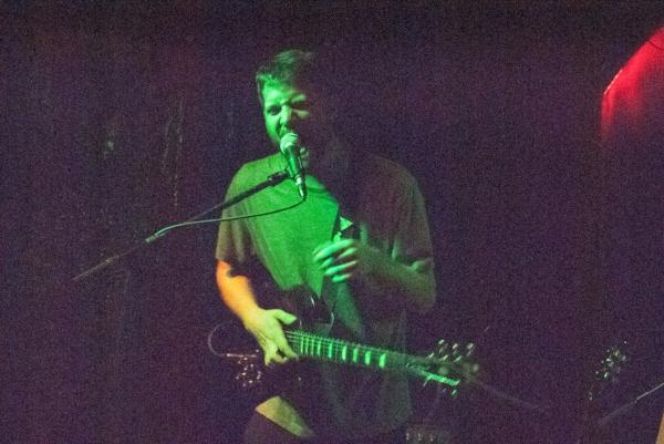Bryden Crain of Motherhood performs at Kung Fu Necktie. Philadelphia, Pa, Tuesday, Sept. 18, 2018.