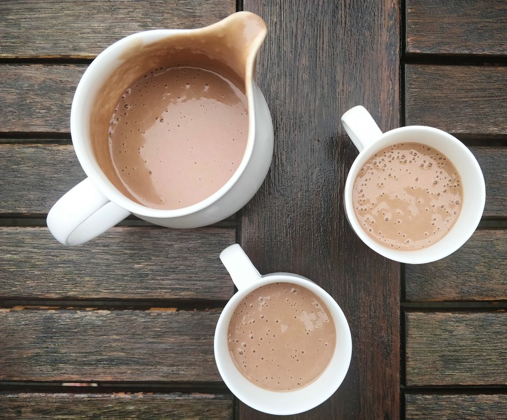 Sugar free, dairy free hot chocolate for toddlers and picky eaters