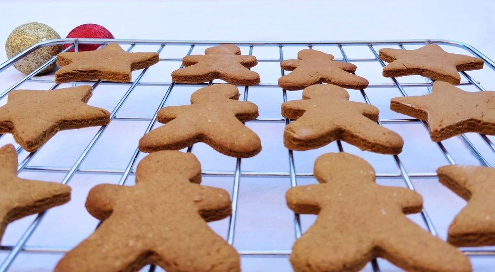 Healthy, dairy free gingerbread recipe