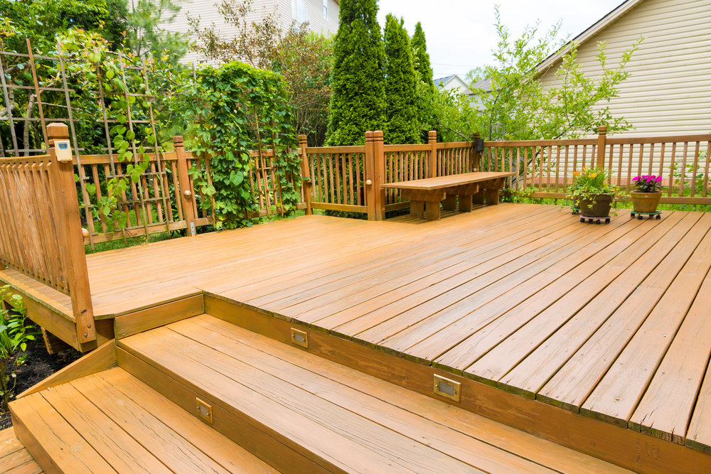 PATIOS & DECKS  Let us help you design the perfect patio deck for your backyard. We provide a variety of styles to accommodate your home.