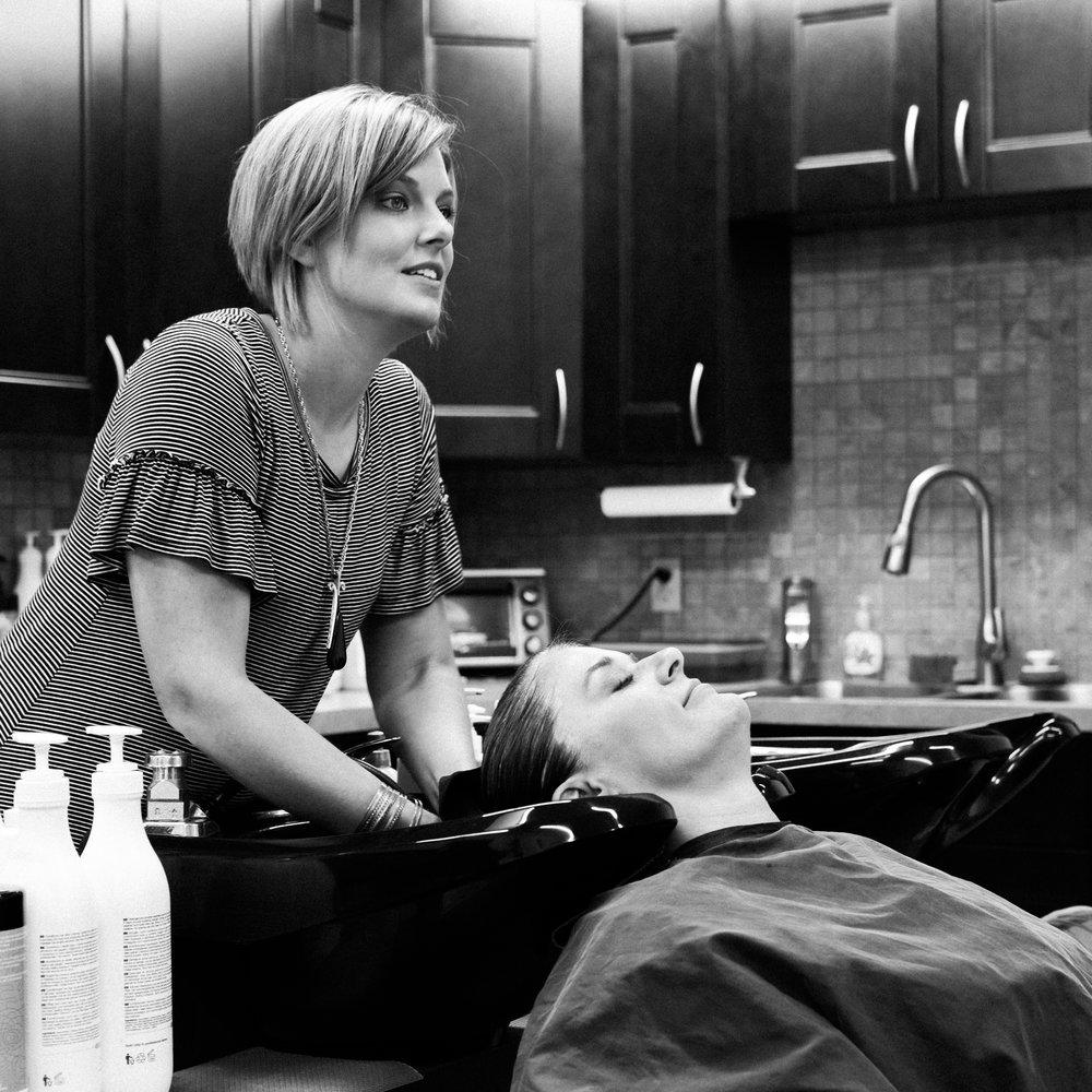 Jacki Kuehne hair stylist, Hudson, OH salon
