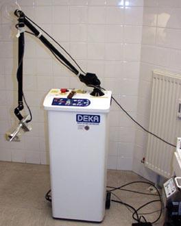 CO2-Laser mit Scanner und Absaugung