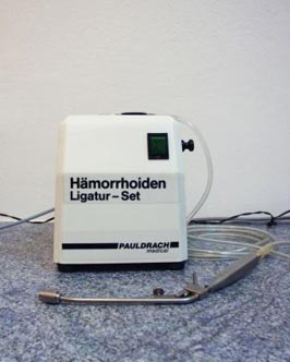 Hämorrhoiden- Ligatur-Set