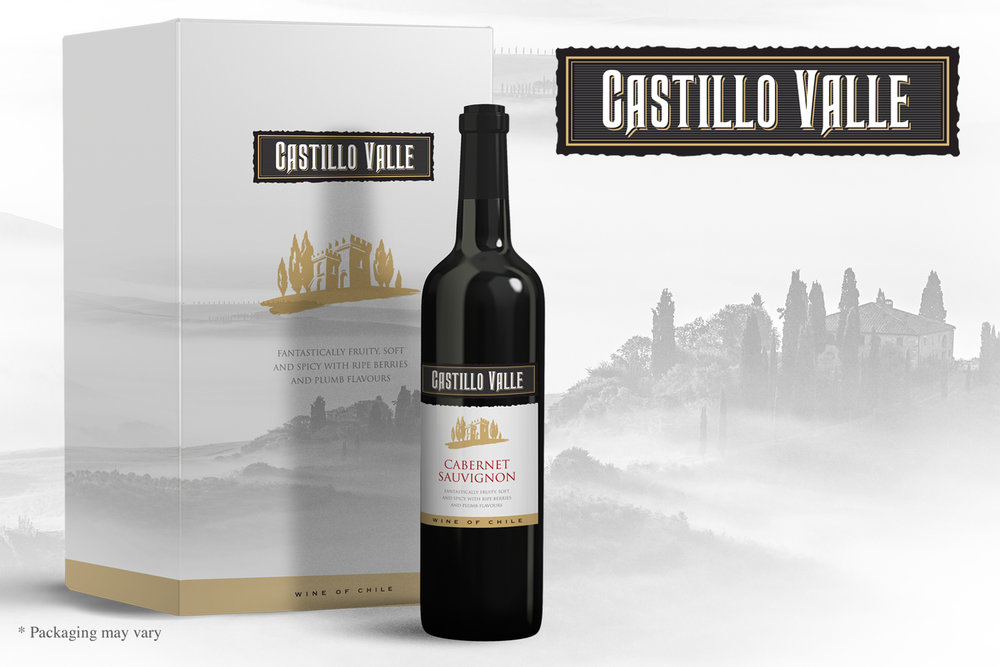 Castillo Valle Chilean Wine