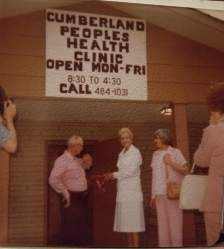 Katie Clark opens the Cumberland Peoples Health Clinic
