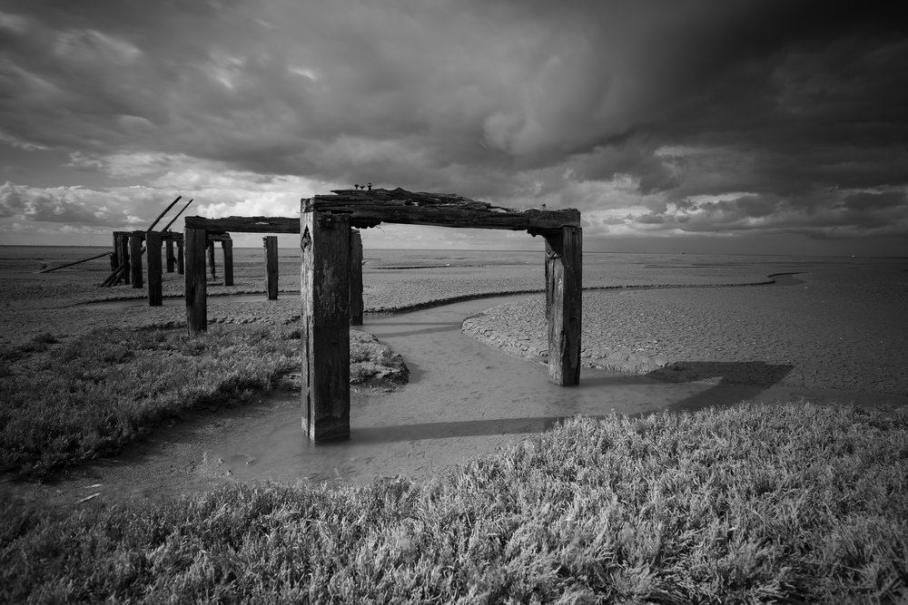 Follow the frame, Snettisham, Norfolk.