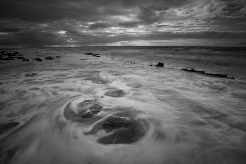 Whirl and whirl, Hunstanton Beach, Norfolk.