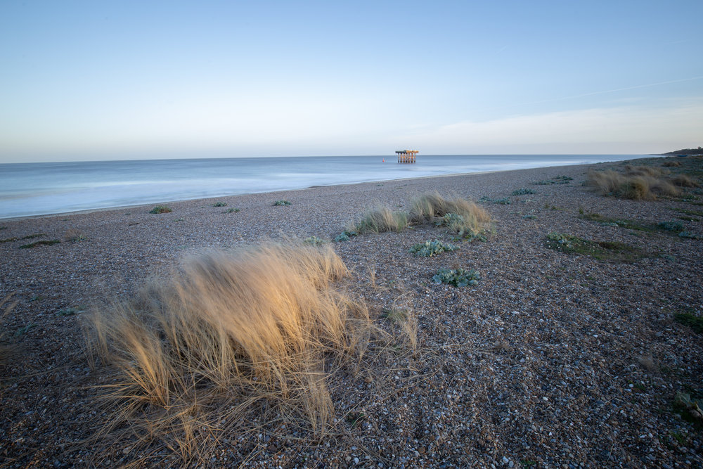 Through & Through, Sizewell Beach, Suffolk.