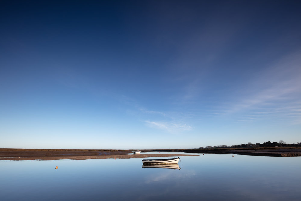 Blue daze, Brancaster (Mow Creek), Norfolk.