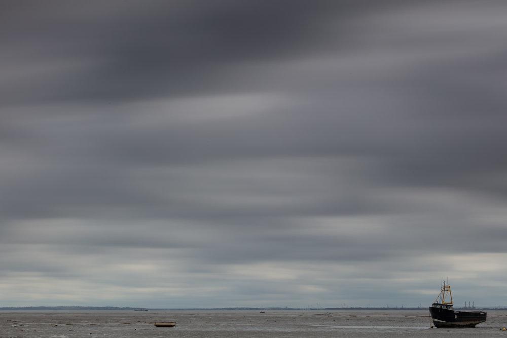 Drifting across, Leigh-on-sea, Essex.