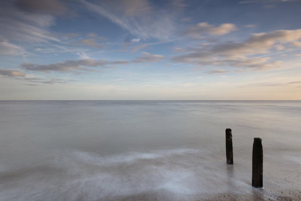 Isolated Coast, Bawdsey, Suffolk.