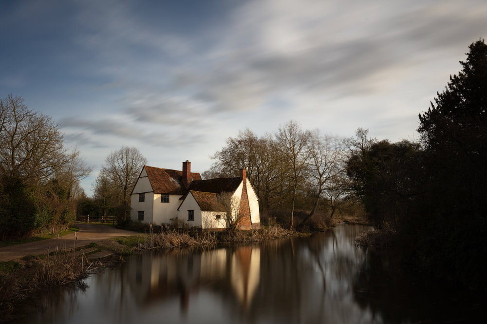 Willy Lotts View, Flatford Mill, Suffolk.
